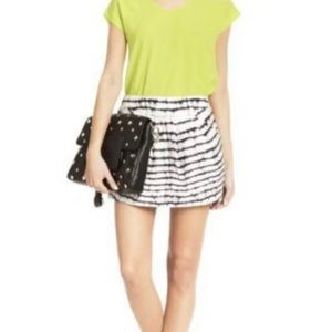 DIANE VON FURSTENBERG Jan Cotton Mini Skirt, Sz 2